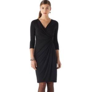 White House Black Market Stretch LBD Midi Dress